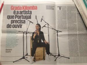 Grada Kilomba / Público