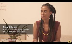 GRADA KILOMBA AT ARTE!BRASILEIROS 2016