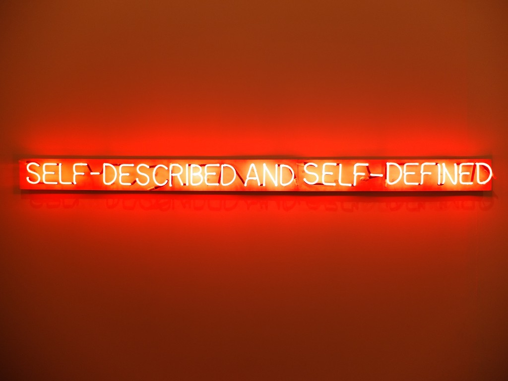'self-described and self-defined'  at the Museu Coleção Berardo, Lisbon. Photographed by Moses Leo.
