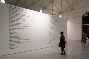 Grada Kilomba, THE CHORUS, Installation view I at Galeria Avenida da Índia, Lisbon, 2017, Photo by Paula Nascimento, Courtesy of the Artist