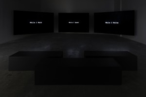 GRADA KILOMBA, THE DESIRE PROJECT, 2016, INSTALLATION VIEW AT THE POWER PLANT, TORONTO, 2018.