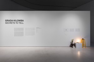 Grada Kilomba, The desire Project, 2015-2016, Installation View I at MAAT, Lisbon 2017, Photo by Bruno Lopes copy